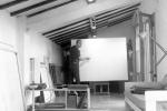 Studio di via Masaccio a Firenze, anni Settanta 1