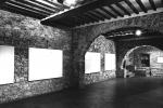 Mostra di Guarneri al Castello di Ama, Radda in Chianti, 1996