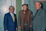 Inaugurazione del mosaico di Guarneri alla metropolitana Lucio Sestio, Roma 2001 (Palumbo, Dorazio e Guarneri)