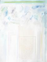 Contrasti tra cielo e base, 2007, cm 77x56, carta