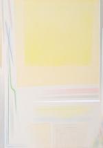Grande campo giallo, 2008, cm 140x100