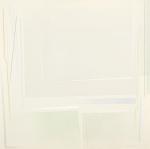 Grande campo grigio, 2007, cm 95x95, collezione Meozzi, Firenze