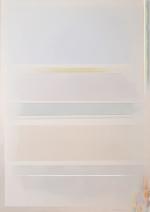Spazioso con celeste, 2008, cm 140x100