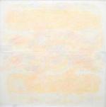 Il chiarore del giallo infinito, 1985, cm 95x95, collezione Belligoli