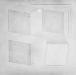 Assonometria ambigua, 1969, cm 175x175