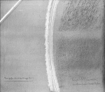 Linee e grafia che diventa oggetto, 1962, cm 60x70