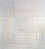 Quadrati simultanei, 1965, cm 130x123, collezione Lombardini, Firenze