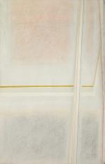 Relazione linee e grafia, 1963, cm 140x90