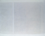 Superficie grafica con 2 verticali, 1963, cm 80x100