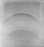 Due archi di cerchio, 1971, cm 70x65