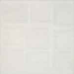 Due rettangoli sono quadrati, 1974, cm 95x95