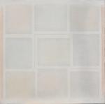 Otto rettangoli e un quadrato, 1971, cm 95x95
