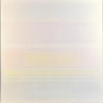 Strisce colore-luce, cm 130x123, 1973